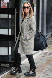 Myleene Klass - Arriving at Global Studios in London 10/29/2020