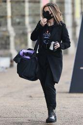 Myleene Klass - Arriving at the Dancing On Ice Studios in London 10/15/2020