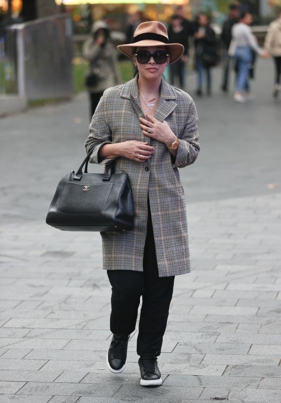 Myleene Klass Street Style - Smooth Radio in London 10/03/2020