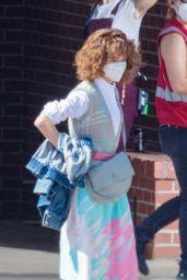 "Natalia Dyer - Filming ""Stranger Things"" Season 4 in Atlanta 10/01/2020"