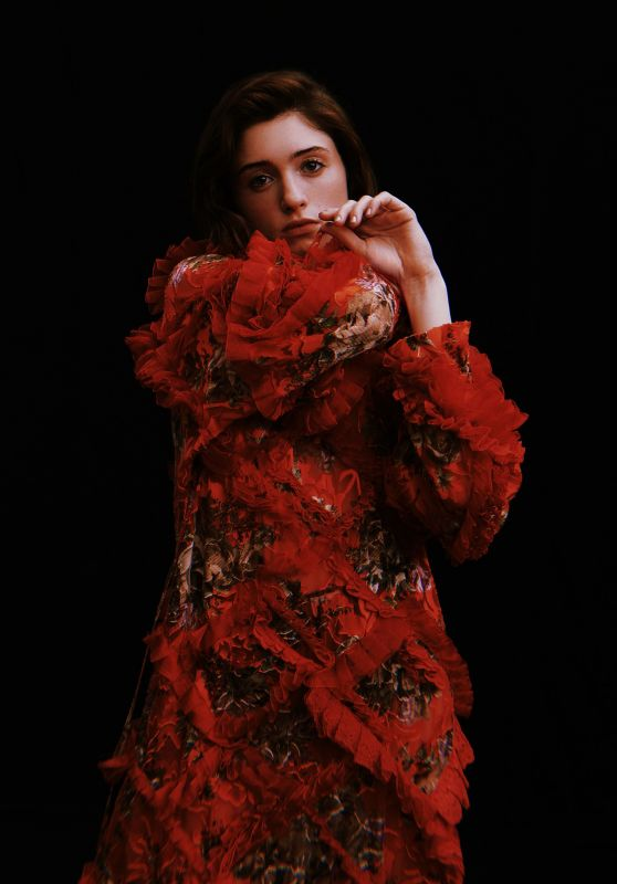 Natalia Dyer - Vogue Italy 2020