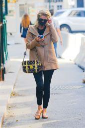 Nicky Hilton Carrying Her Louis Vuitton Handbag - NYC 10/10/2020