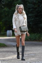 Olivia Attwood - The Only Way is Essex TV Show Filming in Essex 10/07/2020