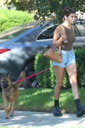 Olivia Jade - Walking Her Dog in LA 10/07/2020