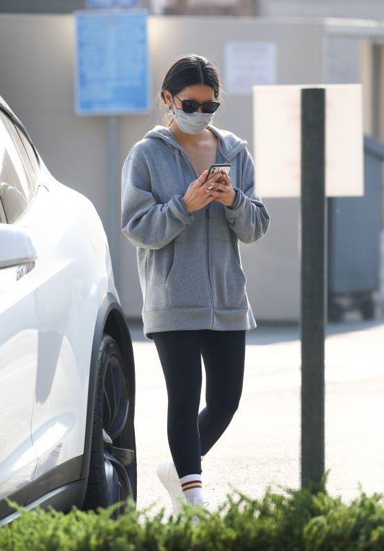 Olivia Munn - Leaving a Gym in LA 10/19/2020
