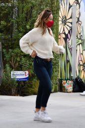 Olivia Wilde - Running Errands in LA 10/22/2020