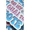 Ouai Vote Sticker