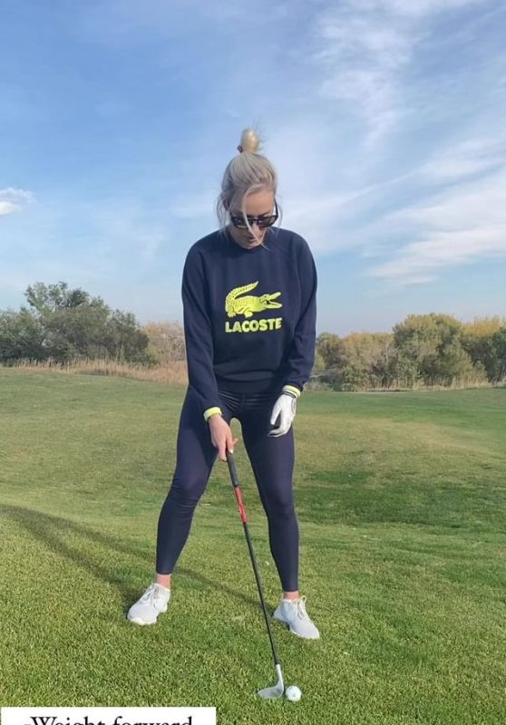 Paige Spiranac Photos and Videos 10/19/2020