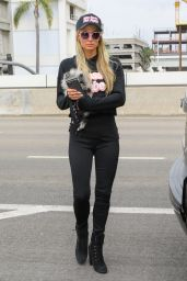Paris Hilton and Carter Reum at Los Angeles International Airport 10/22/2020