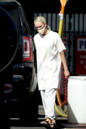 Peta Murgatroyd in All White - Los Angeles 10/30/2020