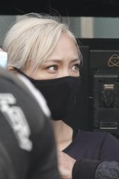 """Pom Klementieff - """"Mission: Impossible 7"""" Set in Rome 10/11/2020"""
