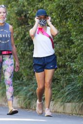 Reese Witherspoon - Exercise Session in Brentwood 10/03/2020