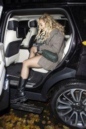 Rita Ora at a Recording Studio in London 10/13/2020
