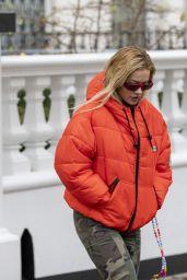 Rita Ora Street Style - London 10/12/2020
