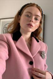 Sadie Sink - Social Media Photos and Videos 10/06/2020