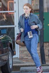 "Sadie Sink - ""Stranger Things 4"" Set in Atlanta 10/20/2020"