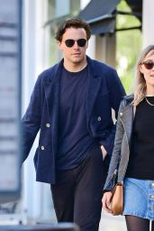 Saoirse Ronan and Jack Lowden on a Romantic Stroll in London, Septrember 2020