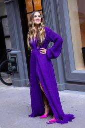 Sarah Jessica Parker - Photoshoot Set in New York 10/15/2020