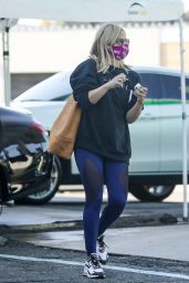 Sarah Michelle Gellar - Heading to Plate Fit in Los Angeles 10/16/2020
