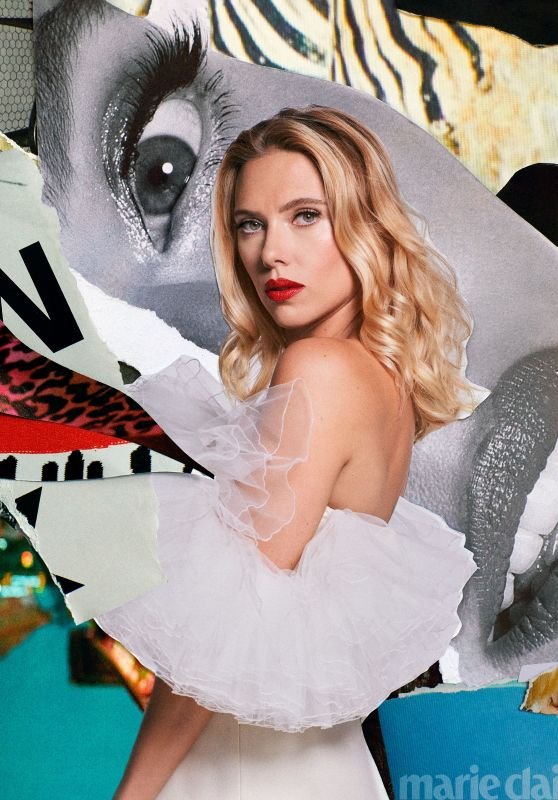 Scarlett Johansson - Marie Claire Magazine October 2020