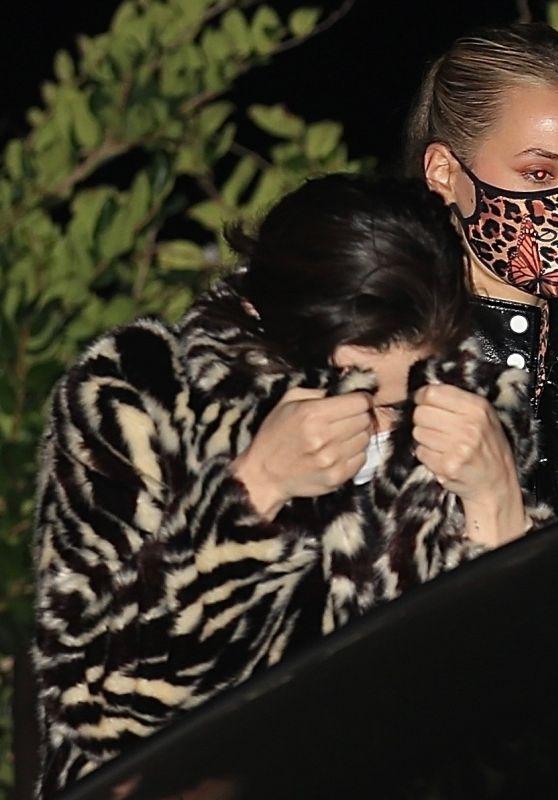 Selena Gomez - Leaving Dinner at Nobu in Malibu 10/26/2020