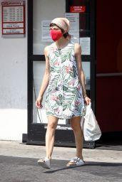 Selma Blair - Leaving a CVS in Studio CitY 10/05/2020