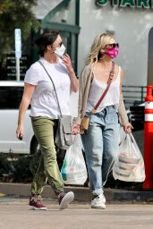 Shannen Doherty and Sarah Michelle Gellar - Shopping at Malibu Country Mart 10/05/2020