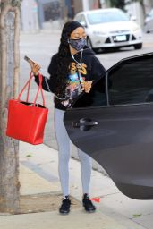 Skai Jackson - Out in Los Angeles 10/23/2020
