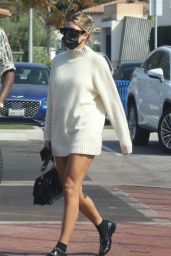 Sofia Richie Cute Style - Out for Lunch at Tra di Noi in Malibu 10/11/2020