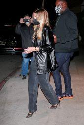 Sofia Richie - Leaves Dinner in Santa Monica 10/09/2020