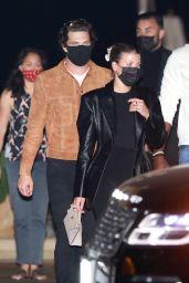 Sofia Richie - Leaving Dinner at Nobu in Malibu 10/17/2020