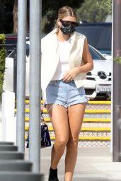 Sofia Richie Leggy in Shorts - Malibu 10/11/2020