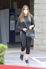 Sofia Vergara in Athleisure Wear 10/21/2020