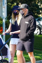 Sophie Turner and Joe Jonas - Out in LA 10/18/2020