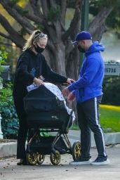 Sophie Turner and Joe Jonas - Walk in LA 10/21/2020