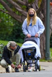 Sophie Turner - Out For a Stroll in Los Angeles 10/25/2020