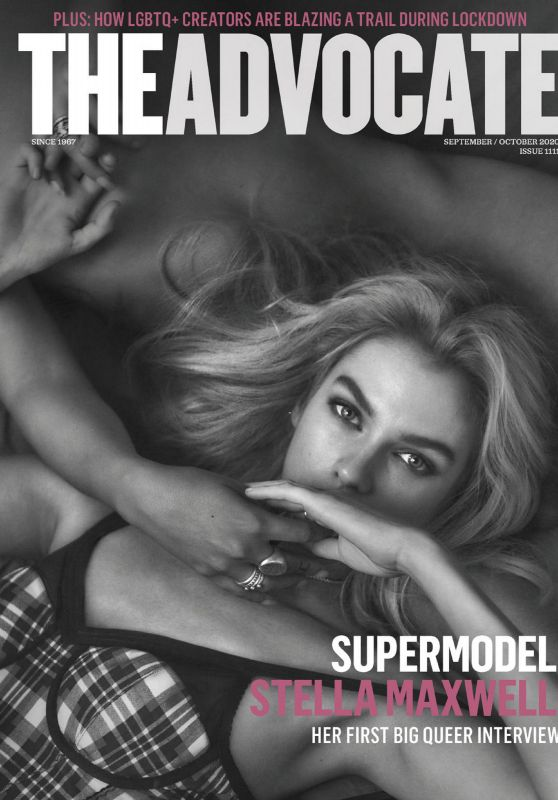 Stella Maxwell - The Advocate September/October 2020 Issue