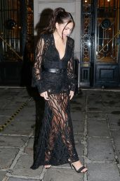 Thylane Blondeau - Leaving the Etam Fashion Show in Paris 09/29/2020