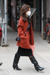 "Vanessa Hudgens - ""Tick, Tick...Boom!"" Set in NY 10/22/2020"