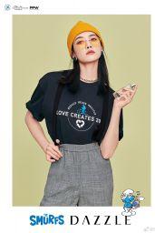 Victoria Song - DAZZLE Fashion x The Smurfs Series 2020