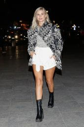 Xenia Adonts - Arriving at Isabel Marant Show in Paris 10/01/2020