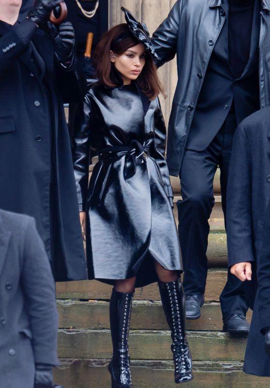 "Zoë Kravitz - ""The Batman"" Set in Liverpool 10/12/2020"