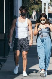 Addison Rae and Bryce Hall - Out in West Hollywood 11/26/2020