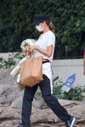 Alessandra Ambrosio - Leaving Her Home in LA 11/06/2020