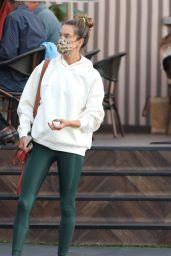 Alessandra Ambrosio - Out in Santa Monica 11/10/2020