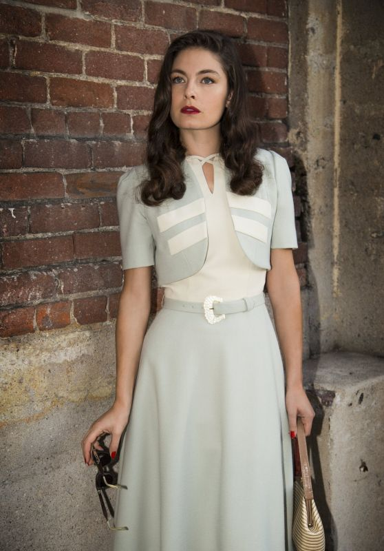 "Alexa Davalos - ""Mob City"" Photos 2013"
