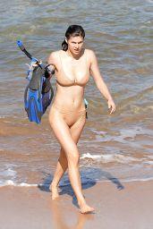 Alexandra Daddario in a Bikini 11/26/2020