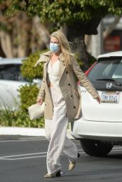 Ali Larter is Stylish - Los Angeles 11/21/2020