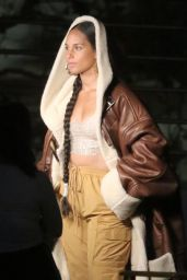 Alicia Keys - Filming a Video for MTV EMA in Los Angeles 11/02/2020