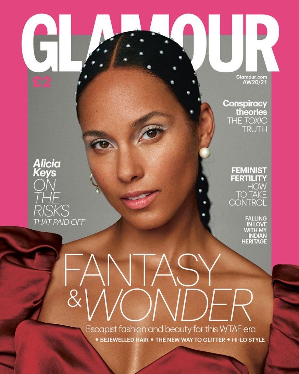 La portada en Glamour UK de Millie Bobby Brown. - Bossa en